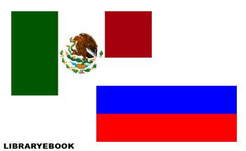 флаг россии и мексики